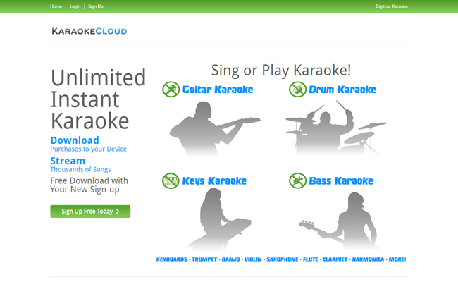 Karaoke Cloud Store From Digitrax Entertainment