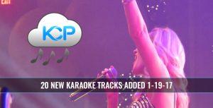 Karaoke Music Subscription Update 1-19-17