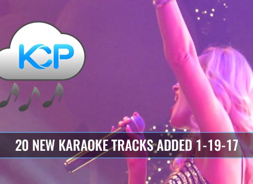 Karaoke Music Subscription Update 1-19-17