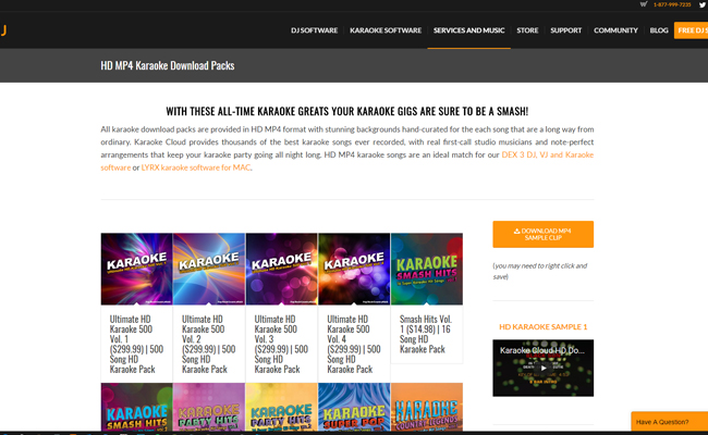 HD Karaoke Download Packs From PCDJ