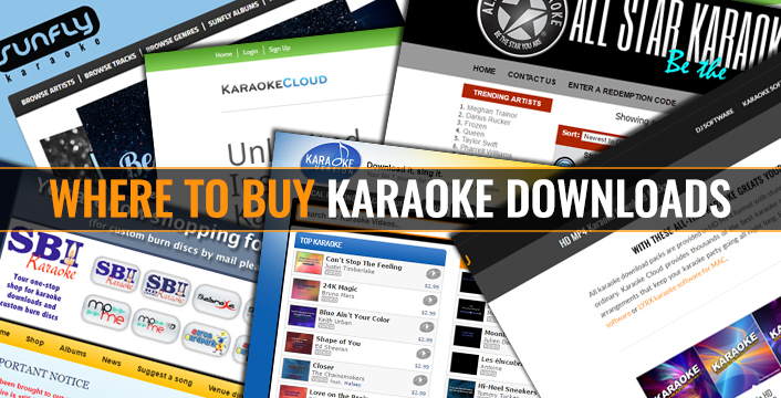 how to download songs to karaoke