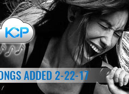 Download 30 Karaoke songs from Karaoke Cloud Pro 2-22-17