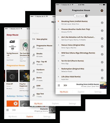 Pulselocker iOS App Preview