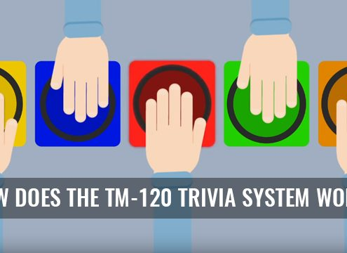 TM-120 Trivia Software with Wireless Buzzers and Quiz