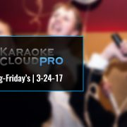 Best Professional Karaoke Subscription Song Update 3-24-17
