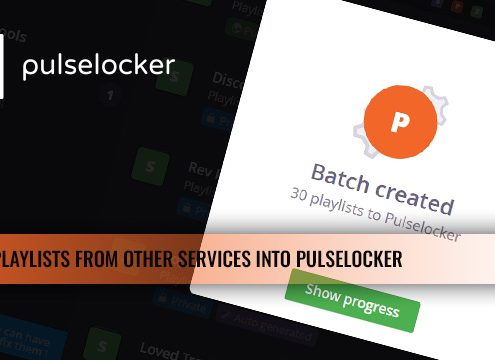 Transfer Playlists From Music Services Into Pulselocker