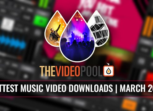 Most Popular Music Video Downloads March 2017