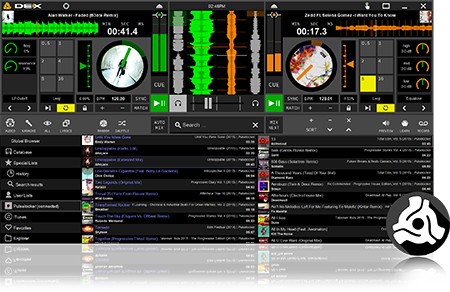 Download Free DJ Software DEX 3 LE