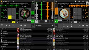 DEX 3 LE Free DJ Mixing software screenshot