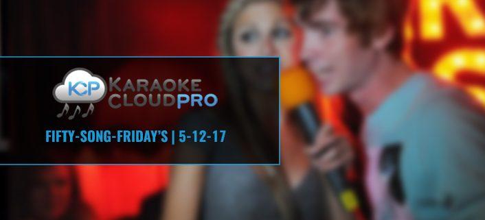 Download 50 Karaoke Songs from KCP 5-12-17