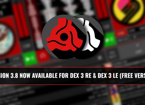 Version 3.8 of DEX 3 RE and LE Now Available