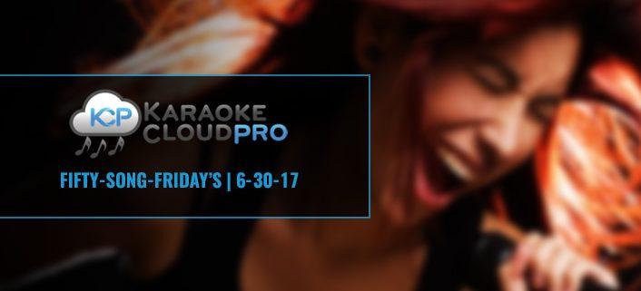 Download 50 karaoke songs from karaoke cloud pro 6-30-17