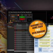 Karaoke File name fixer free with Karaoki promo