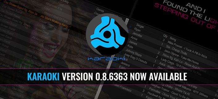 Karaoki Beta Version 0.8.6368