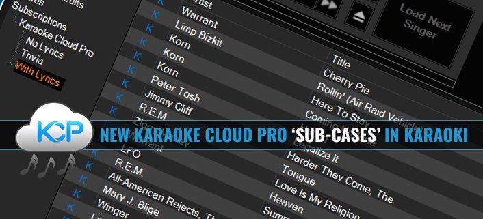 Karaoke Subscription Sub-cases in Karaoki