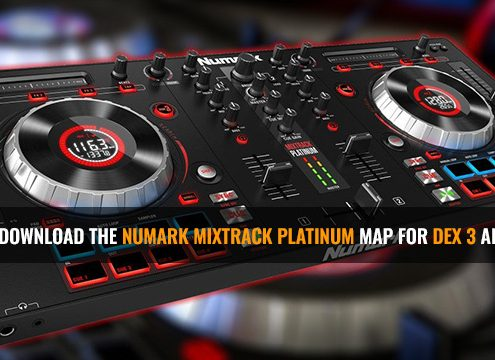 Numark Mixtrack Platinum Map for DEX 3 and DEX 3 RE DJ Software