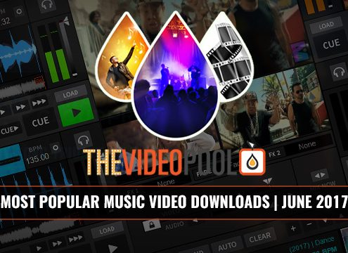 Most Popular Music Video Downloads June 2017