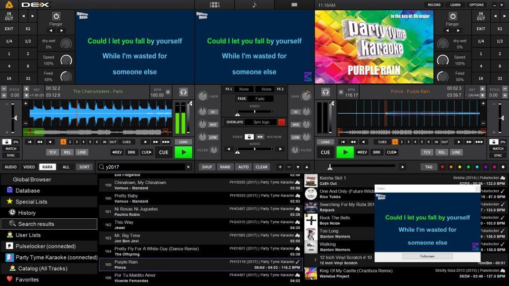 ... Party Tyme Karaoke Subscription for DEX 3 karaoke software ...