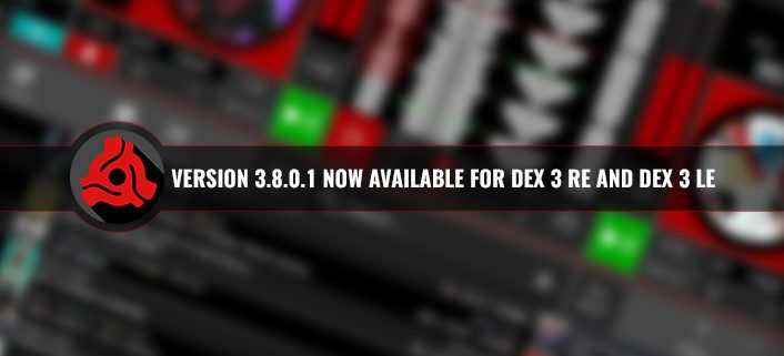 DEX 3 RE version 3.8.0.1 update
