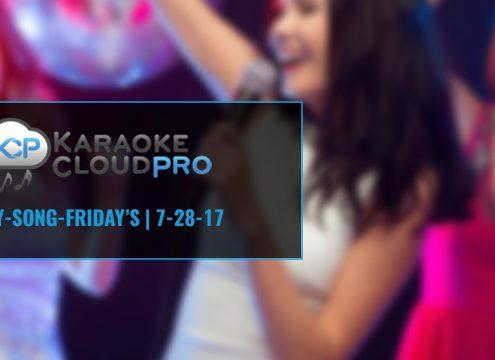 Karaoke Subscription Update 7-31-17