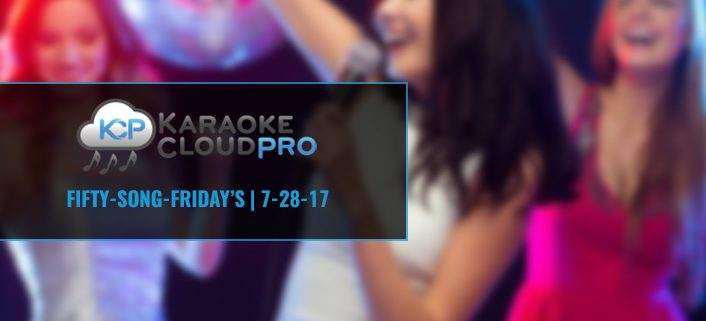 Karaoke Subscription Update 7-31-17