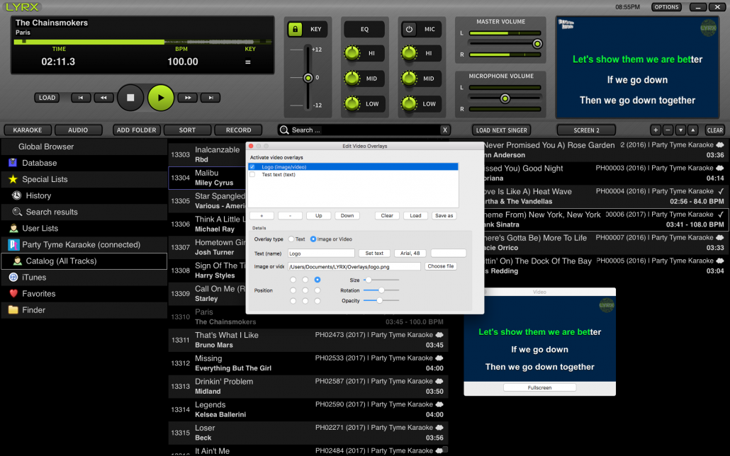 Madison : Lyrx karaoke software for mac download