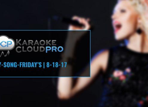 Download new karaoke songs now with Karaoke Cloud Pro 8-18-17