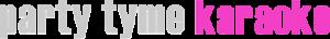 Party Tyme Karaoke logo sml