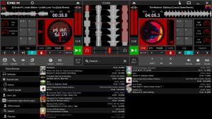 DEX 3 RE DJ Software Version 3.9.0.5 screen shot