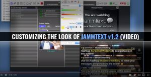 Customizing the look of JammText v1.2