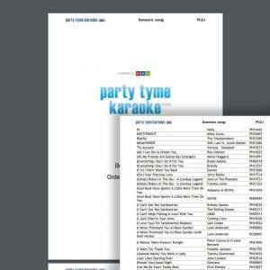 Your party tyme songbook is ready for print