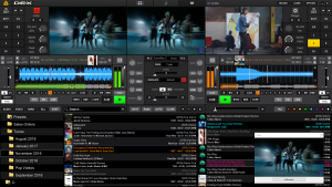 DEX 3 with 2 deck video mixing