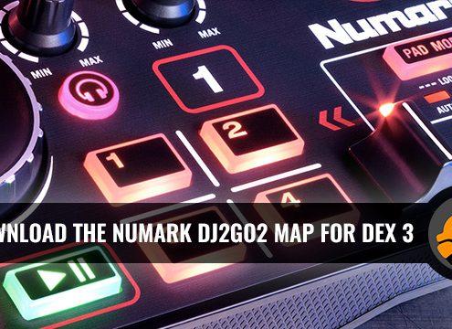 Download Map for Numark DJ2GO2 DJ Controller