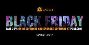 Black Friday PCDJ offer