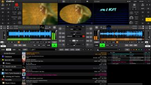 DEX 3.9.0.9 DJ mixing software screenshot