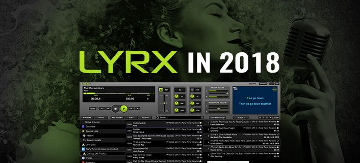 LYRX karaoke player for MAC in 2018