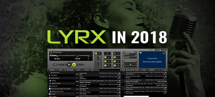 LYRX karaoke player for MAC in 2018