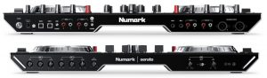 Numark NS6II front and rear