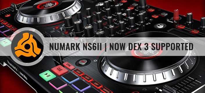 Numark NS6II Now PCDJ DEX 3 and DEX 3 RE supported