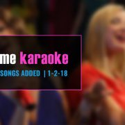 New Party Tyme karaoke subscription songs