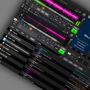 Party Tyme Karaoke Working in DEX 3 karaoke software