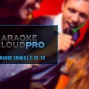 Karaoke Cloud Pro Update 2-23-18