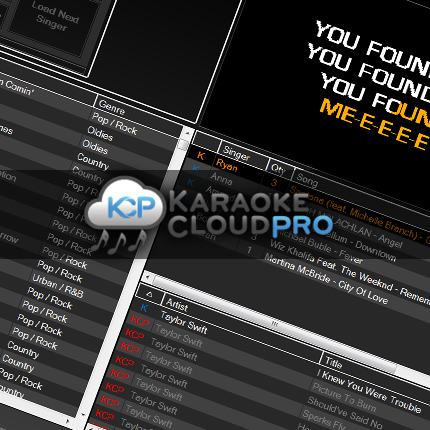 Karaoke Cloud Pro for use with Karaoki