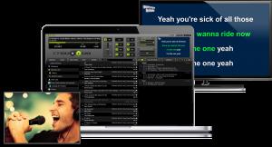 LYRX karaoke player for MAC