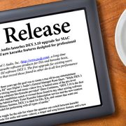 DEX 3.10 DJ Software Press Release