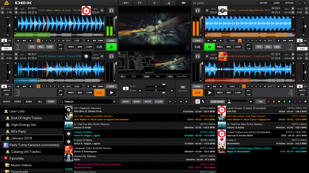 DEX 3 DJ And Video Mixing Software For Pro DJs