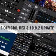 DEX 3.10.0.2 DJ software update