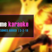 New Party Tyme Karaoke Songs 3-2-18