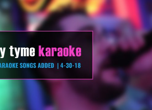 Karaoke Subscription Update 4-30-18