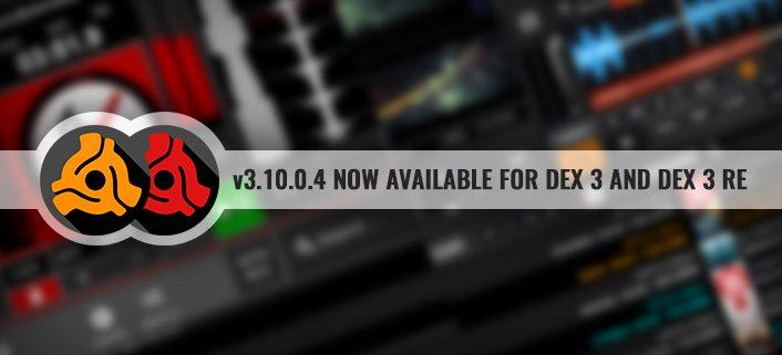 DEX 3 and DEX 3 RE DJ Software updates